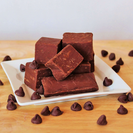 Brevin's Belgian Chocolate Chip Fudge