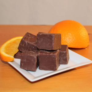 Brevin's Dark Orange Chocolate Fudge