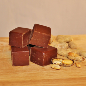 Brevin's Dark Chocolate Peanut Butter Fudge