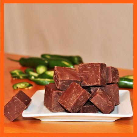 Brevin's Ghost Pepper Fudge