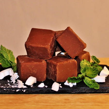 Brevin's Chocolate Mint Fudge