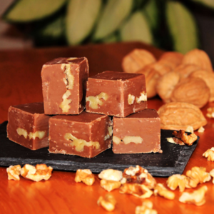 Brevin's Milk Chocolate with Walnuts Fudge