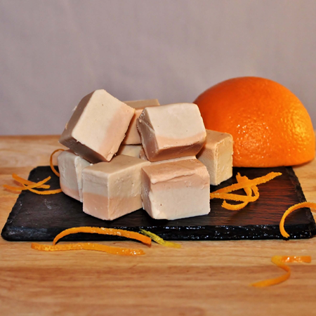 Brevin's Orange Cream Fudge