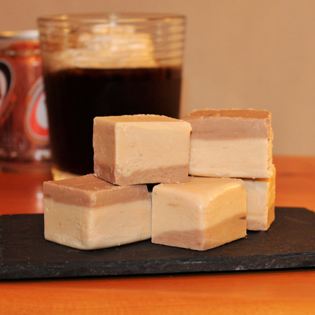 Brevin's Root Beer Float Fudge