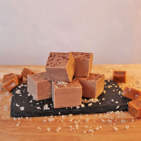 Brevin's Salted Caramel Fudge