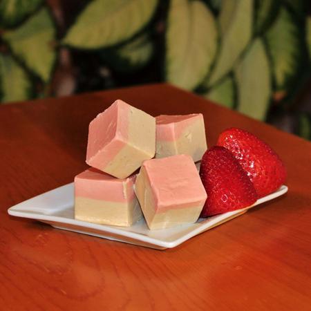 Brevin's Strawberry Cheesecake Fudge
